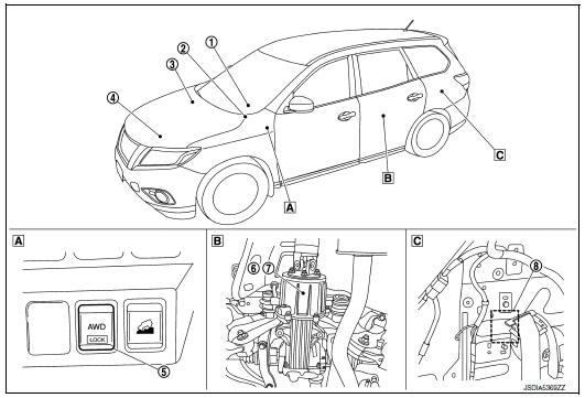 nissan wiring   nissan steering angle sensor
