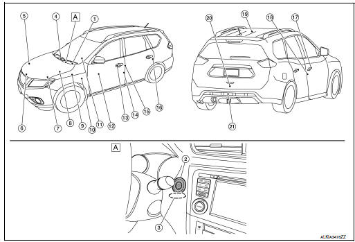 Nissan Rogue Service Manual: System description - With intelligent